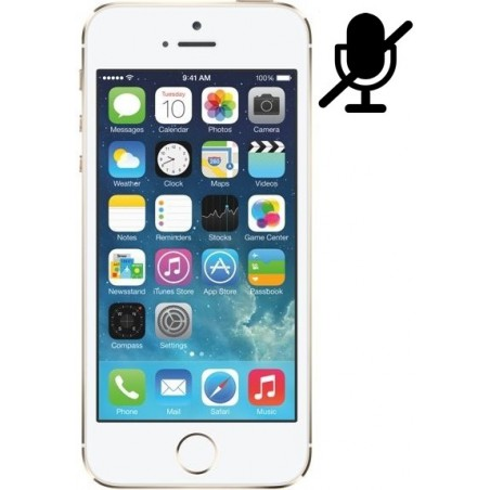Cambiar Microfono iPhone 5S