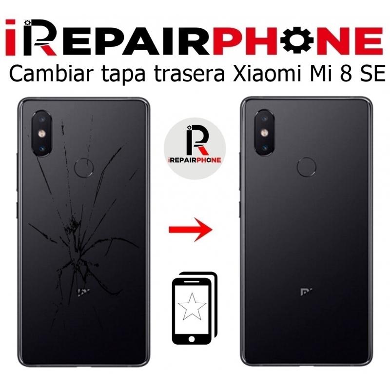 Cambiar tapa trasera Xiaomi Mi 8 SE