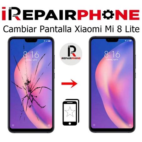 Cambiar Pantalla Xiaomi Mi 8 Lite