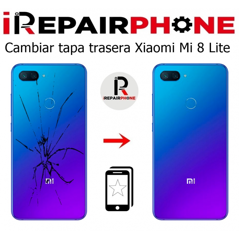 Cambiar tapa trasera Xiaomi Mi 8 Lite