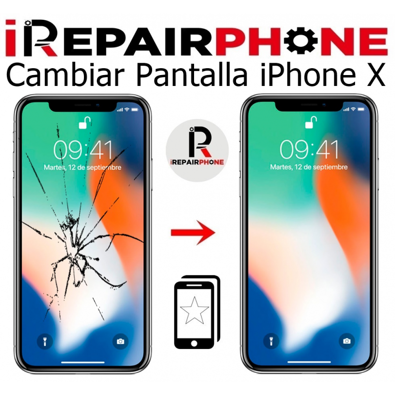 Cambiar Pantalla iPhone X Compatible