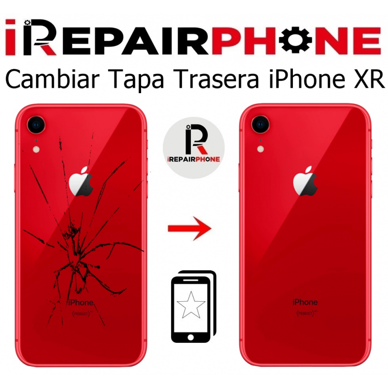 Cambiar tapa trasera iPhone XR