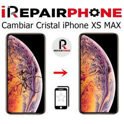 Cambiar cristal iPhone XS Max