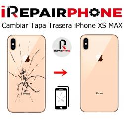 Cambiar tapa trasera iPhone XS Max