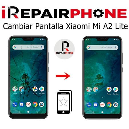 Cambiar pantalla Xiaomi Mi A2 lite