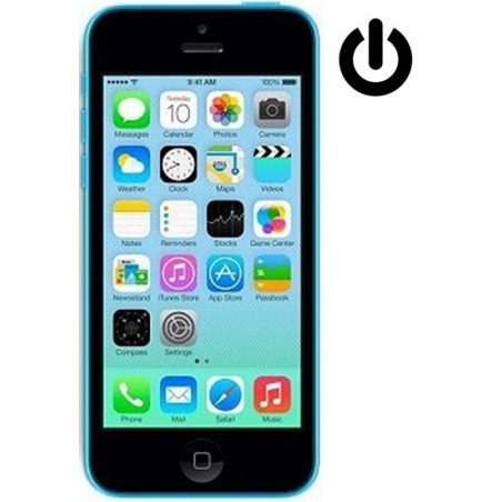 Cambiar Boton Power iPhone 5c