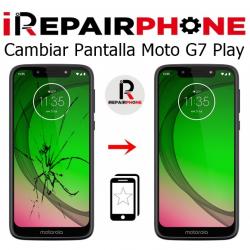 Cambiar Pantalla Motorola G7 Play