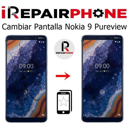 Cambiar pantalla Nokia 9 PureView
