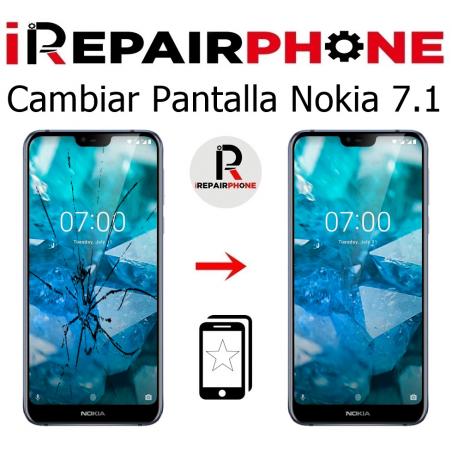 Cambiar Pantalla Nokia 7.1