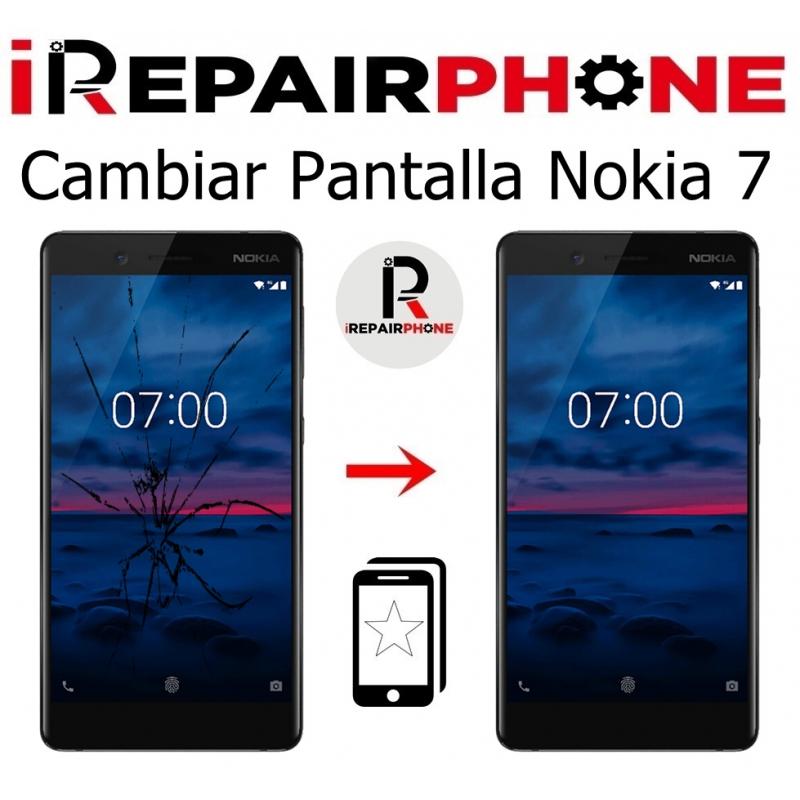 Cambiar Pantalla Nokia 7