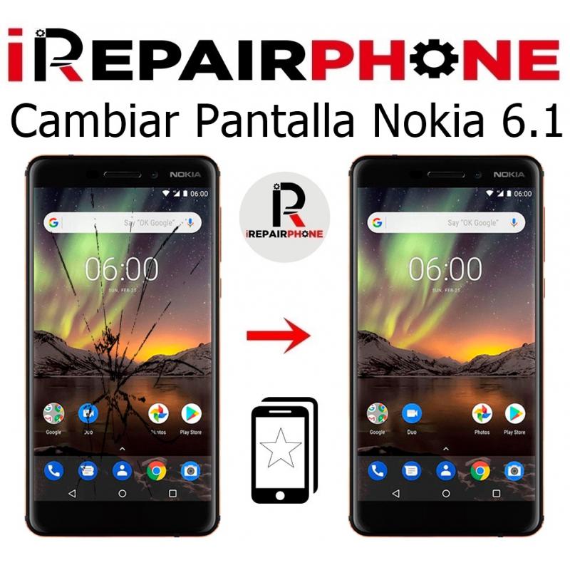 Cambiar Pantalla Nokia 6.1