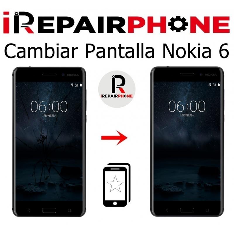 Cambiar Pantalla Nokia 6