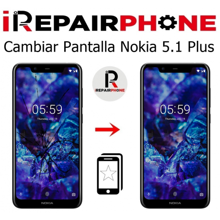 Cambiar Pantalla Nokia 5.1 Plus