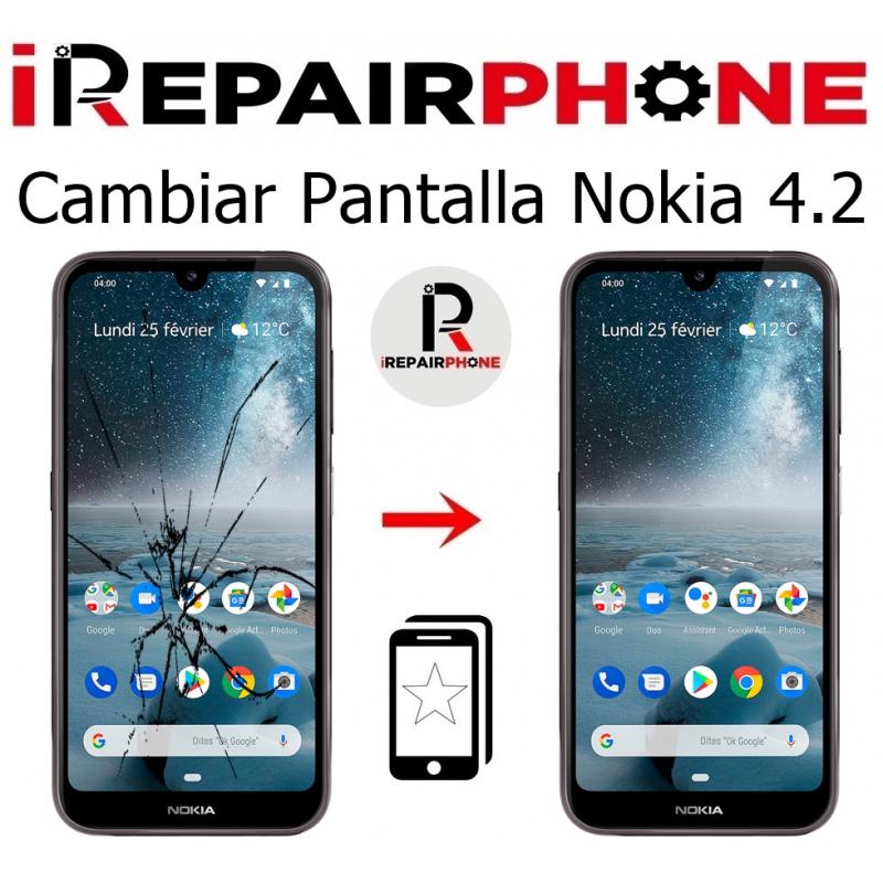 Cambiar pantalla Nokia 4.2