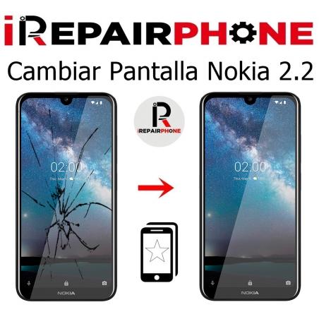 Cambiar pantalla Nokia 2.2