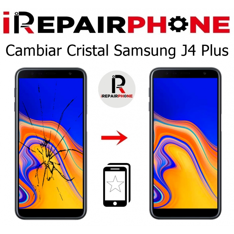 Cambiar cristal Samsung Galaxy J4 Plus SM-J415F