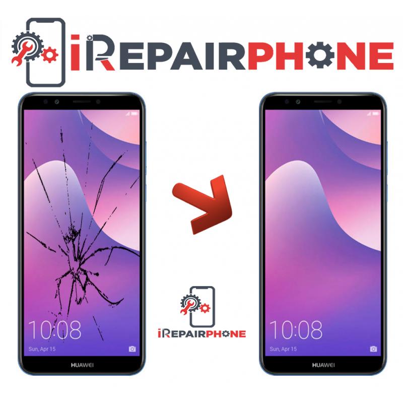 Cambiar Pantalla Huawei Y7 Prime 2018
