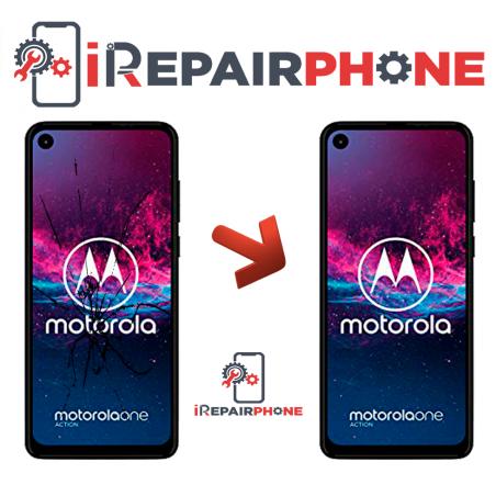 Cambiar Pantalla Motorola One Action XT2013