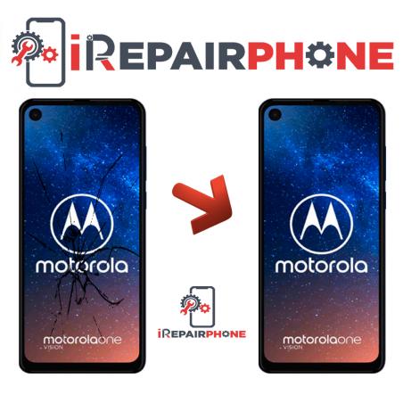 Cambiar Pantalla Motorola One Vision XT1970