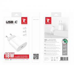 LT PLUS A8535 CARGADOR RÁPIDO USB C BLANCO QC 3.0A 18W BLANCO