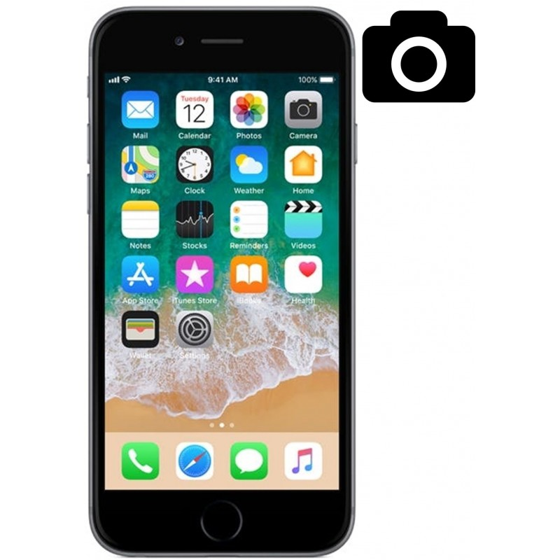 Cambiar Camara Trasera iPhone 6