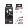 LT PLUS C6012 AURICULARES IN-EAR CON MICROFONO 3.5MM BLANCO