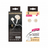 LT PLUS C6012 AURICULARES IN-EAR CON MICROFONO 3.5MM ORO