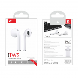 LT PLUS C6031 TWS TURE WIRELESS HEADEST BLANCO