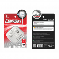 LT PLUS C6034 AURICULARES IN-EAR CON MICROFONO TYPE-C 3.5MM BLANCO