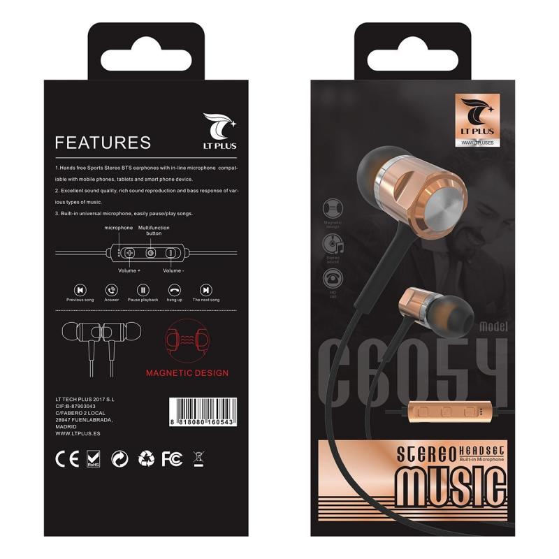LT PLUS C6054 STEREO SPORTS BTS EARPHONES