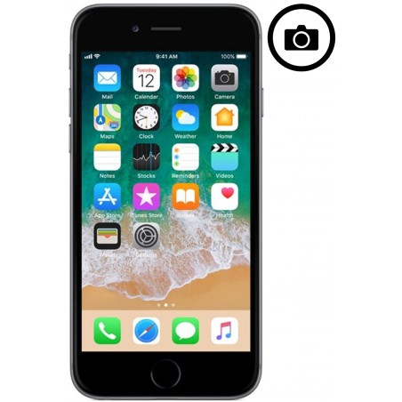 Cambiar Camara Frontal iPhone 6 Plus