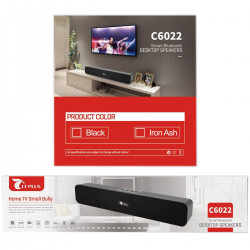LT PLUS C6022 MINI BARRA DE SONIDO BTS NEGRO