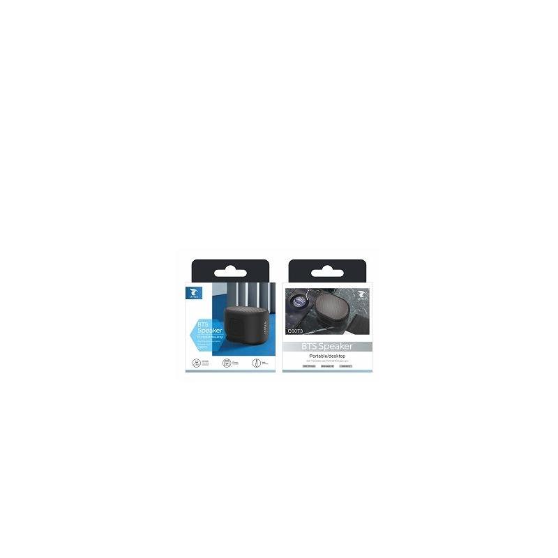 LT PLUS C6073 ALTAVOZ PORTÁTIL BTS TF CARD/AUX NEGRO