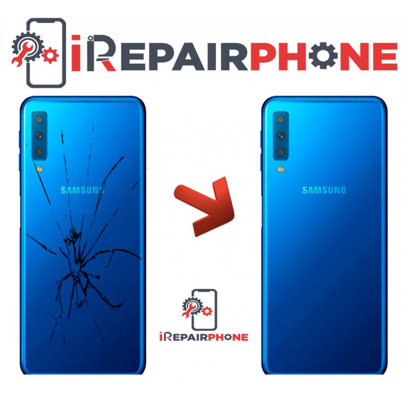 Cambiar tapa trasera Samsung Galaxy A7 2018