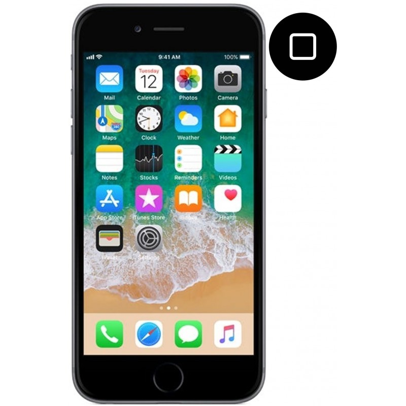 Cambiar home de iPhone 6s