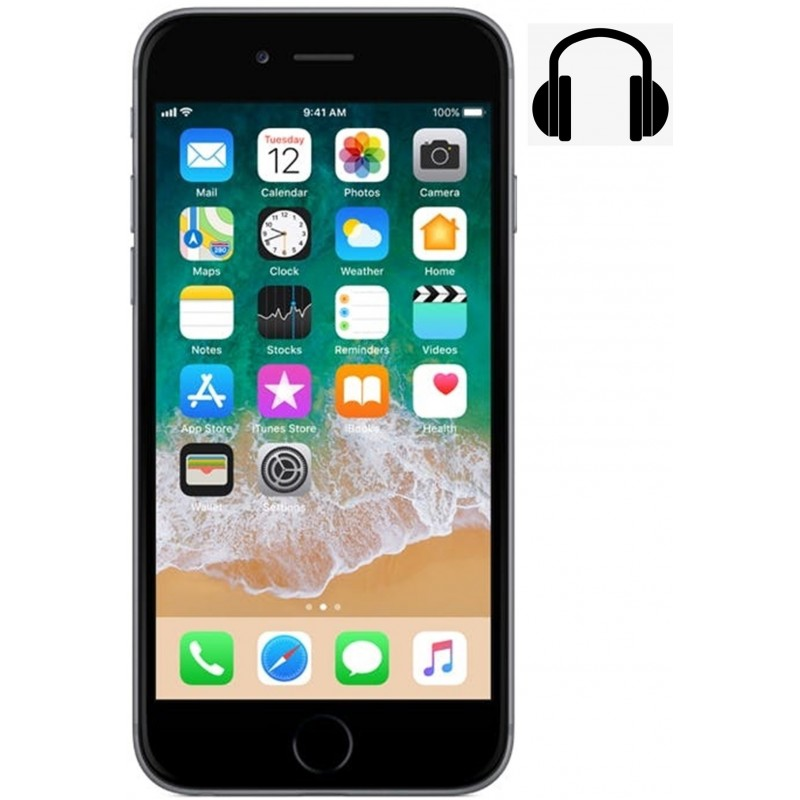 Cambiar Jack Audio iPhone 6S Plus