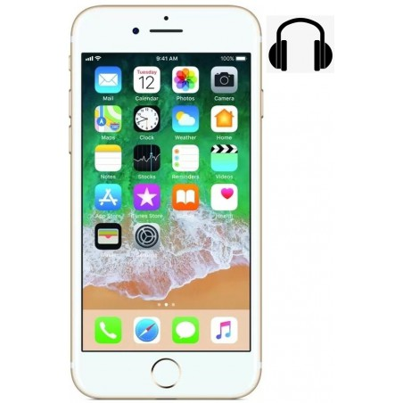 Cambiar jack audio iPhone 7