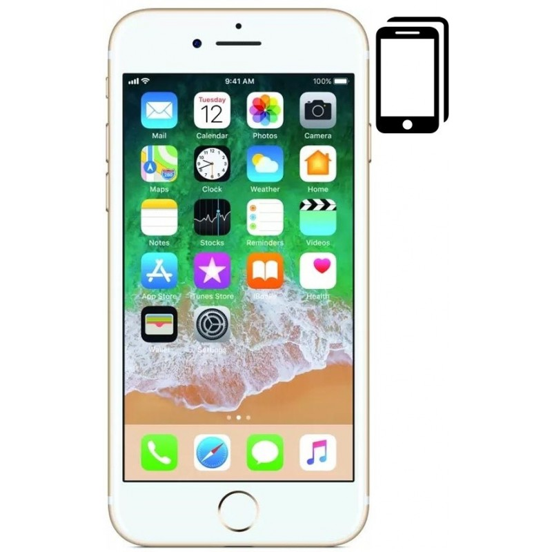 Cambiar Pantalla iPhone 7 Plus Compatible