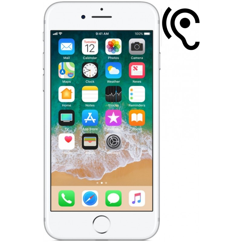 Cambiar auricular iPhone 8