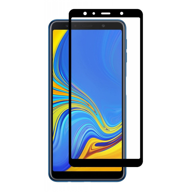 Protector de cristal templado Samsung Galaxy A7 2018 Full Screen