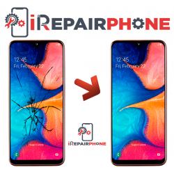 Cambiar Cristal de la pantalla Samsung Galaxy A20 SM-A205F