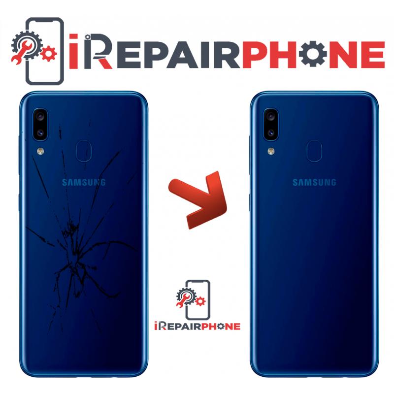 Cambiar Tapa Trasera Samsung Galaxy A20 SM-A205F