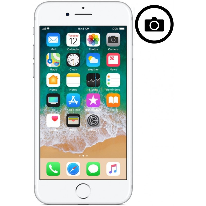 Cambiar camara frontal iPhone 8
