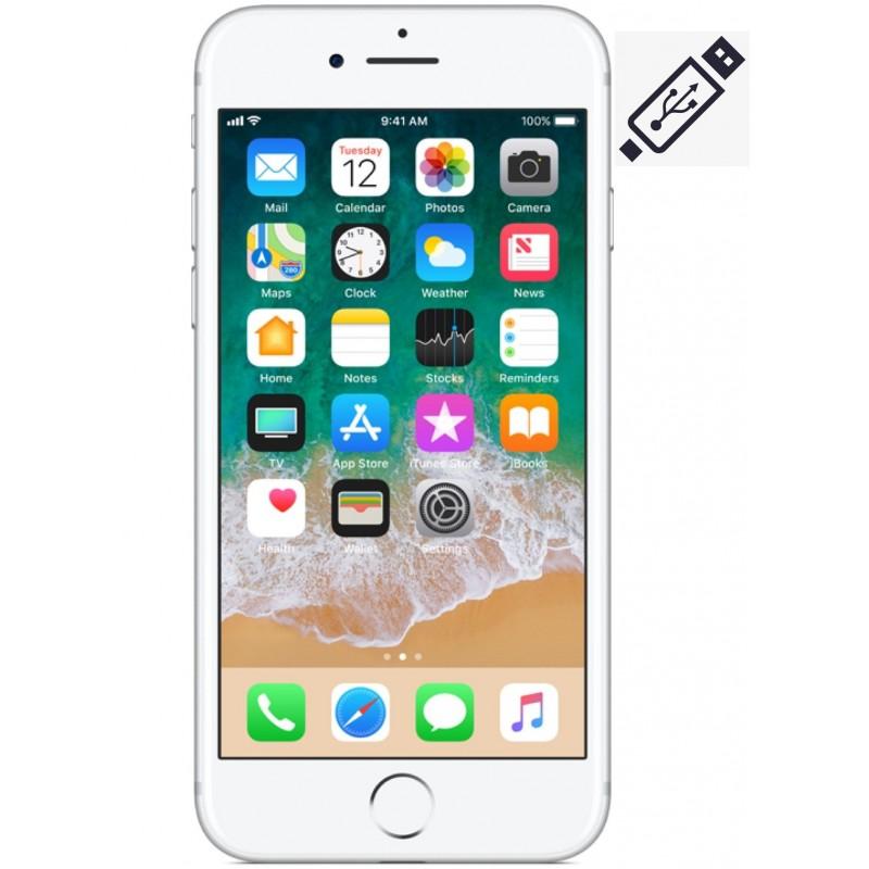 Cambiar Conector de Carga iPhone 8