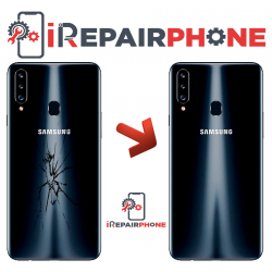 Cambiar Tapa Trasera Samsung Galaxy A20S SM-A207F