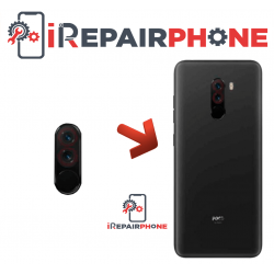 Cambiar Cristal Cámara Trasera Xiaomi Pocophone F1