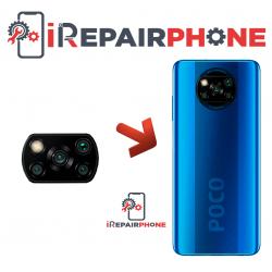 Cambiar Cristal Cámara Trasera Xiaomi Poco X3 NFC
