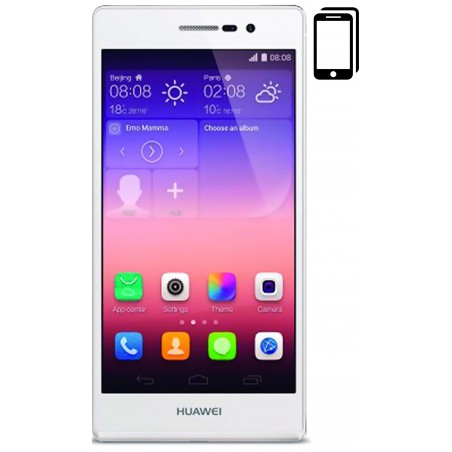 Cambiar Pantalla Huawei P7