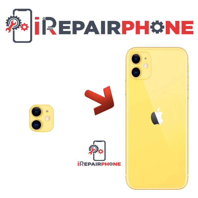 Cambiar Cristal Cámara Trasera iPhone 11