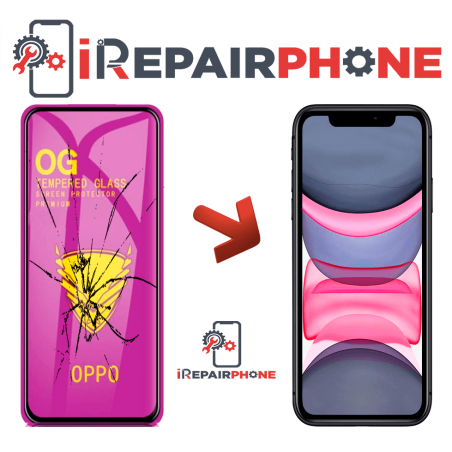 Protector de cristal templado iPhone 11 Full Screen